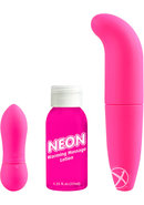Neon Luv Touch Fantasy Kit Waterproof Pink