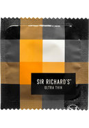 Sir Richards Ultra Thin Latex Condoms 3 Each Per Pack