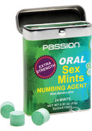 Passion Extra Strength Oral Sex Mints Numbing Agent 24...