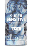 Tom Of Finland One Super Sensitive Premium Latex Condoms 12...