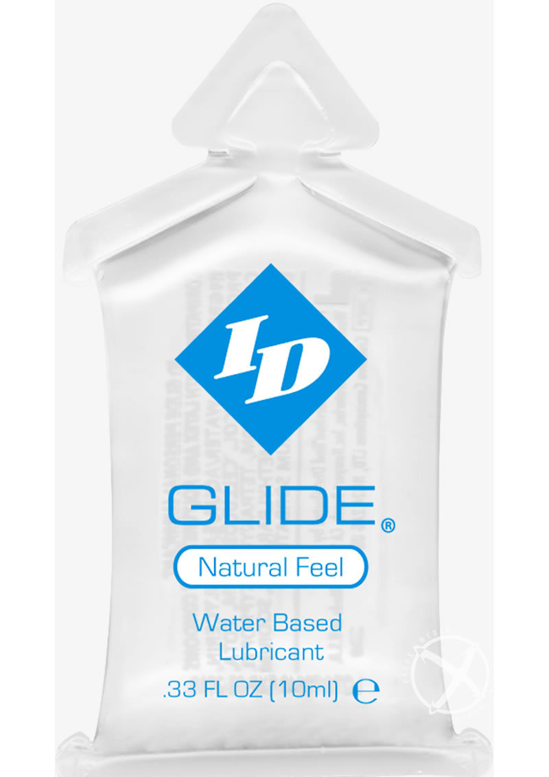 Id Glide Water Based Lubricant Pillow Packs 0.3 Ounce