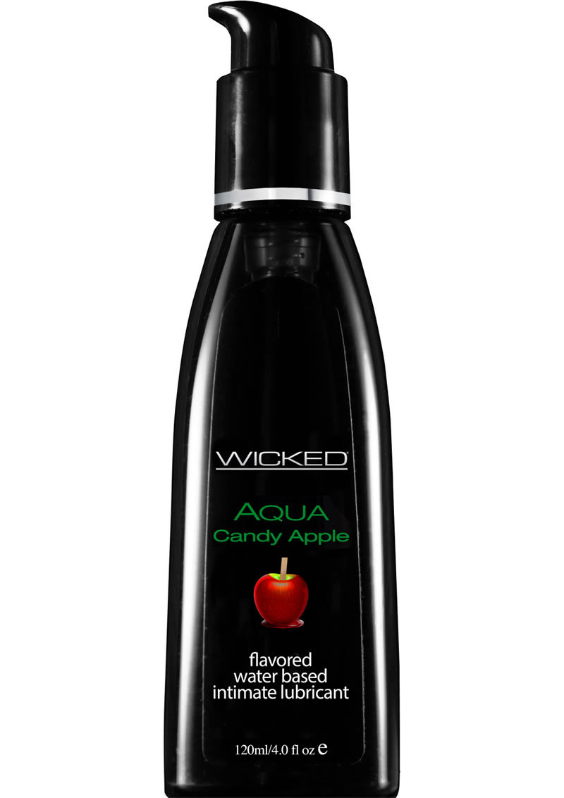 Wicked Aqua Candy Apple Water Based Lubricant 4 Ounce