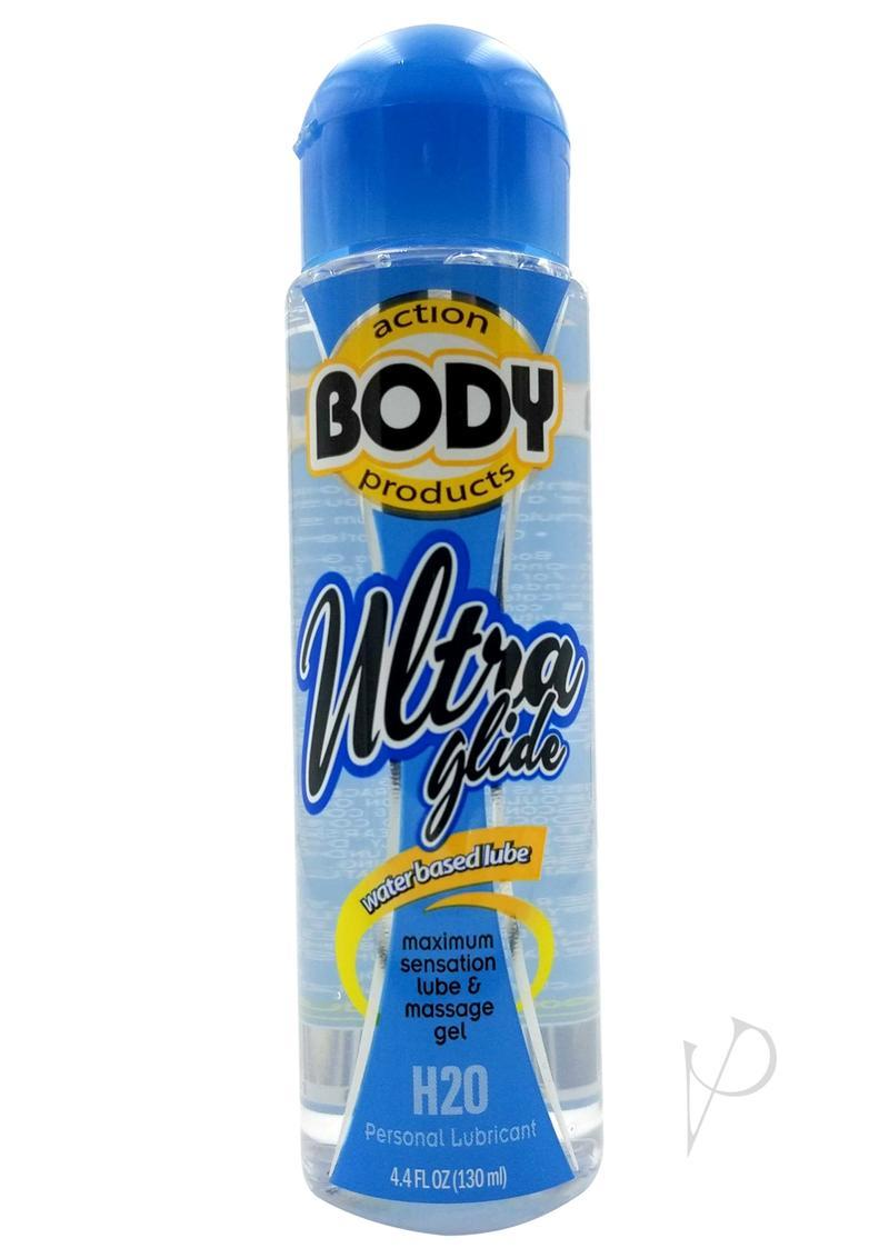Body Action Ultra Glide Water Based Lubricant 4.8 Ounce